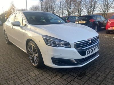 used Peugeot 508 2.0 BlueHDi 180 GT 4dr Auto