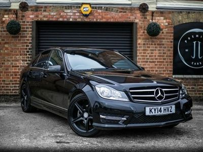 used Mercedes C220 C-Class 2.1CDI AMG SPORT EDITION PREMIUM PLUS 4d AUTO 168 BHP JUST SERVICED!