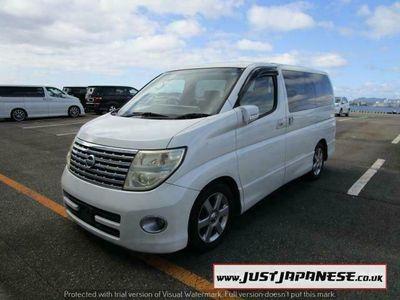 used Nissan Elgrand E51 2.5 V6 HIGHWAY STAR, 8 Seater Dayvan, FreshJapanese Import 5-Door