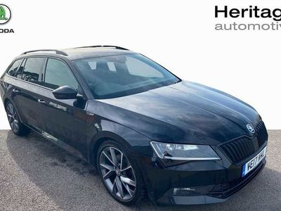 used Skoda Superb 2.0 Tdi Cr 190 Sport Line 4X4 5Dr Dsg