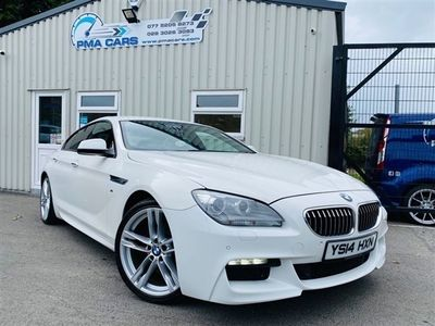 used BMW 640 6 Series 3.0 D M SPORT GRAN COUPE 4d 309 BHP, 2014 ( )