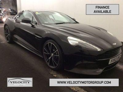 used Aston Martin Vanquish 5.9 V12 2+2 2d 565 BHP Auto 2-Door