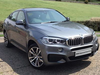 used BMW X6 2019 Colchester xDrive40d M Sport 5dr Step Auto