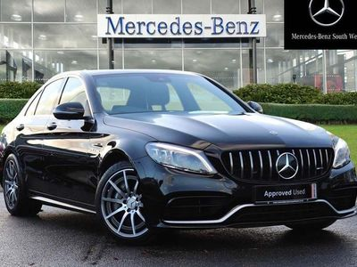 used Mercedes C63 AMG C Class 4.0V8 BiTurbo AMG SpdS MCT (s/s) 4dr