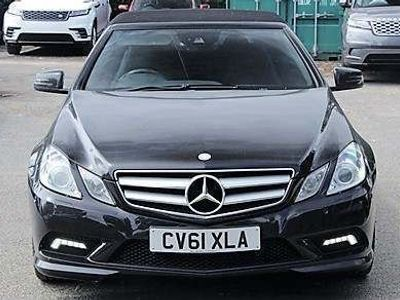 used Mercedes E250 E Class 2.1CDI BlueEFFICIENCY Sport Edition 125 Cabriolet 7G-Tronic Plus (s/s) 2dr