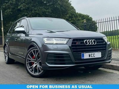 used Audi SQ7 4.0TDI QUATTRO 5d AUTO 429 BHP DAYTONA GREY, 22 INCH ALLOYS