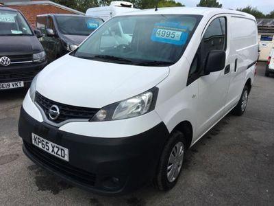 used Nissan NV200 1.5 dCi Acenta Van, 2015, Van, 91000 miles.