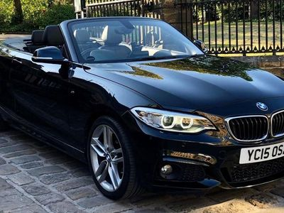 used BMW 220 2 Series d M Sport 2dr CONVERTIBLE/ LOW MILES/ CABRIOLET/ TOP SPEC