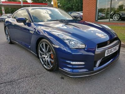 used Nissan GT-R 3.8 V6 Premium Edition Black 4WD 2dr Gorgeous Low Mileage Example Coupe 2013