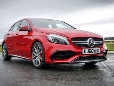 used Mercedes A45 AMG A Class 2.0SpdS DCT 4MATIC (s/s) 5dr