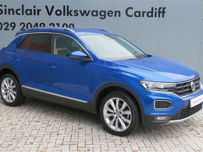 used VW T-Roc 2017 2.0 TDI SEL 150PS DSG