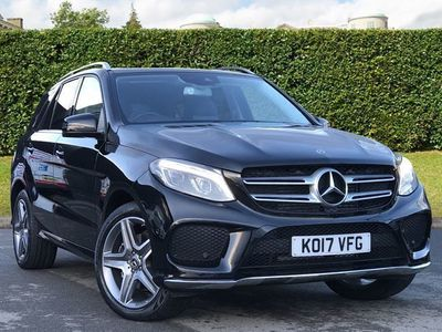 used Mercedes GLE350 GLE-CLASSD 4MATIC AMG LINE diesel estate