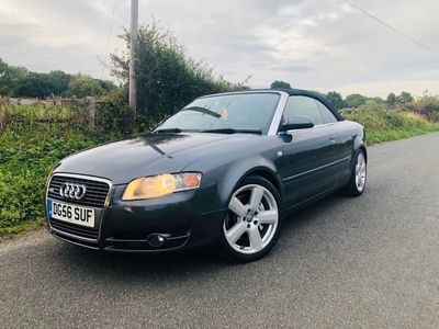 used Audi A4 Cabriolet Cabriolet 2.0 TFSI S line 2dr