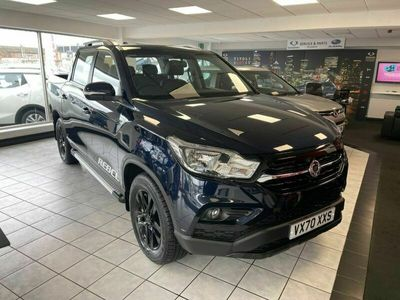 used Ssangyong Musso Double Cab Pick Up Rebel 4dr Auto AWD 2.2