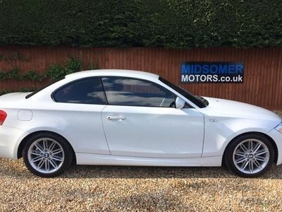 used BMW 118 1-Series Coupe d M Sport 2d Step Auto