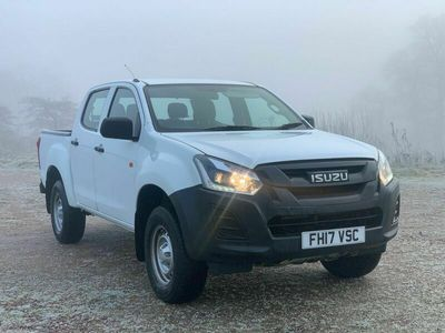 used Isuzu D-Max 1.9 TD Utility Double Cab Pickup 4WD EU6 4dr