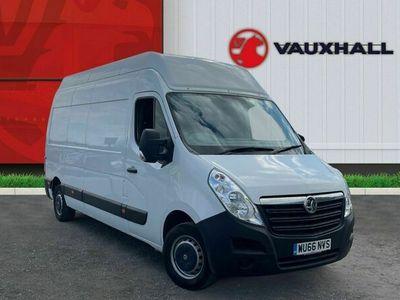 used Vauxhall Movano 2.3 Cdti 3500 Biturbo Ecoflex Panel Van 5dr Diesel Manual Fwd L3