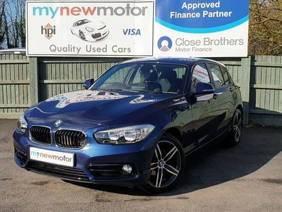 used BMW 118 1 Series 1.5 i Sport Sports Hatch Auto (s/s) 5dr