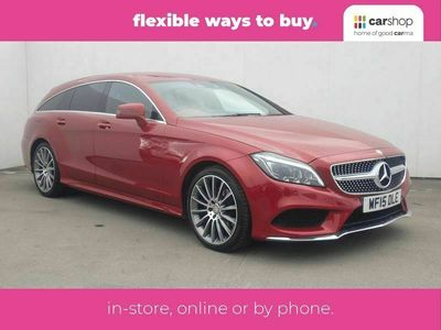 used Mercedes CLS220 BlueTEC AMG Line 5dr 7G-Tronic Leather Seats 2.2