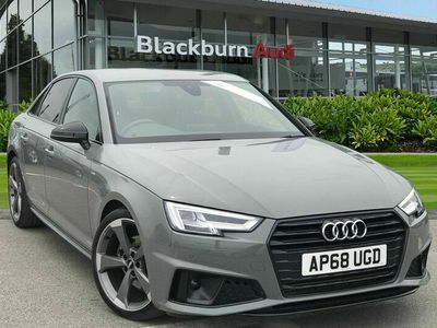 used Audi A4 Saloon Black Edition 35 TFSI 150 PS 6-speed