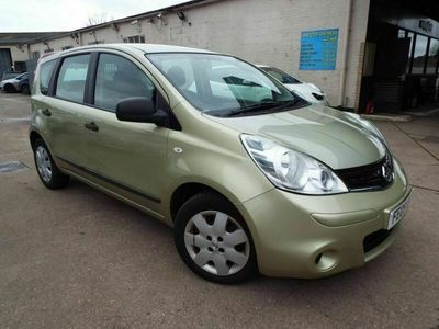 used Nissan Note 1.6 VISIA 5d 110 BHP