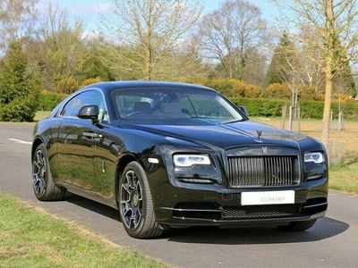 used Rolls Royce Wraith 6.6 V12 Black Badge Auto 2dr Just Serviced Coupe 2019
