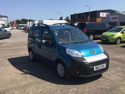 used Peugeot Bipper TEPEE 2013 Burton On Trent 1.3 HDi 75 Outdoor 5dr EGC