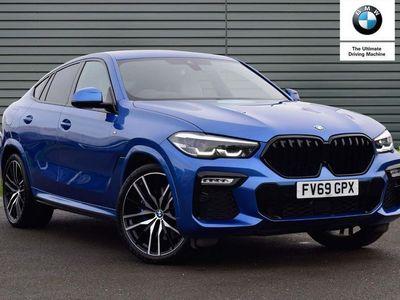 used BMW X6 xDrive30d M Sport 5dr Step Auto SUV 2019