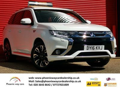 used Mitsubishi Outlander 2.0h 12kWh GX3h+ CVT 4WD (s/s) 5dr