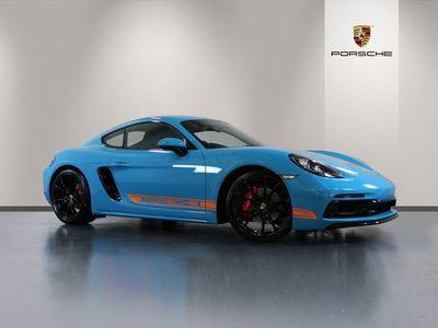 used Porsche 718 Cayman GTS