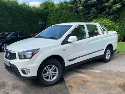 used Ssangyong Korando Sports 2.0 TD SX Pickup 4WD 4dr