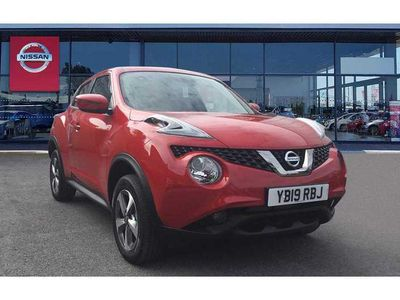 used Nissan Juke 5-Door Hatchback 1.6 (112ps) Acenta