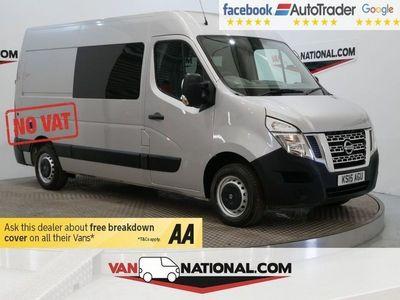 used Nissan NV400 2.3 DCI SE H/R P/V 125 BHP **CAMPER CONVERSION**NO VAT * NO VAT