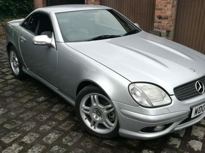 used Mercedes SLK32 AMG AMG OUTSTANDING LOW MILEAGE EXAMPLE