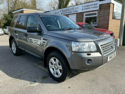 used Land Rover Freelander 2.2 TD4 E GS 5d 159 BHP ONLY 2 FORMER KEEPERS, 6 SERVICES, 2 KEYS ALLOYS, 2