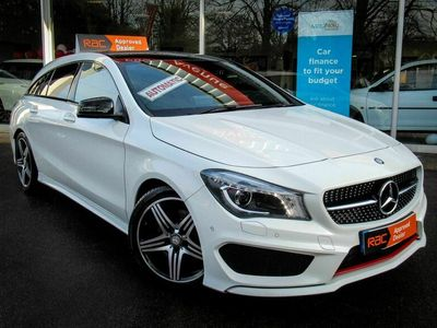 used Mercedes CLA250 Shooting Brake Cla Class 2.0 Engineered by AMG 7G-DCT 4MATIC (s/s) 5dr
