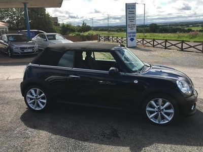 used Mini Cooper Convertible Convertible 1.6(08/10 on) 2d