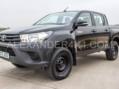 used Toyota HiLux ACTIVE D-4D 4WD DCB