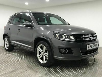 used VW Tiguan 2.0 TDI BlueMotion Tech R-Line Edition 4MOTION (s/s) 5dr