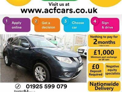 used Nissan X-Trail ACENTA DCI XTRONIC - CAR FINANCE FR £58 PW Auto Estate 2017