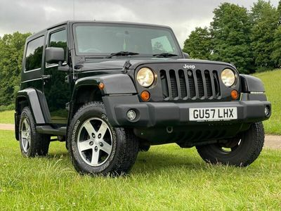 used Jeep Wrangler 2.8 CRD Sport Soft top 4x4 2dr