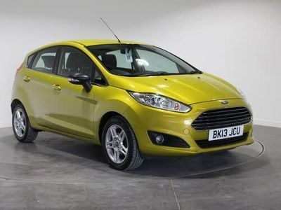 used Ford Fiesta 1.0 EcoBoost Zetec 5dr