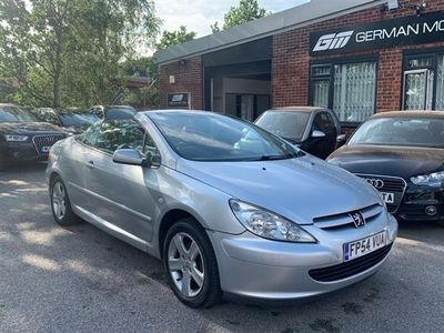 used Peugeot 307 CC 2.0 COUPE 2d 135 BHP