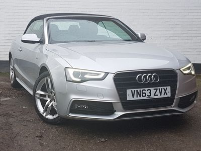 used Audi A5 Cabriolet 1.8T FSI S Line 2dr