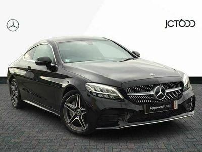 used Mercedes C300 C ClassAMG Line 2dr 9G-Tronic diesel coupe