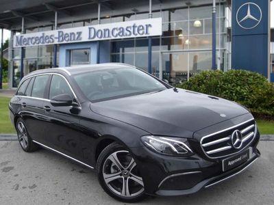 used Mercedes E220 E CLASSSE 5dr 9G-Tronic Automatic diesel estate