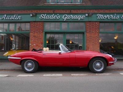 used Jaguar E-Type Series 3 V12 Roadster 1 Owner