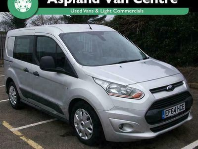 used Ford Transit Connect 1.6 TDCi 95ps D/Cab Trend Van, 2014 (64)