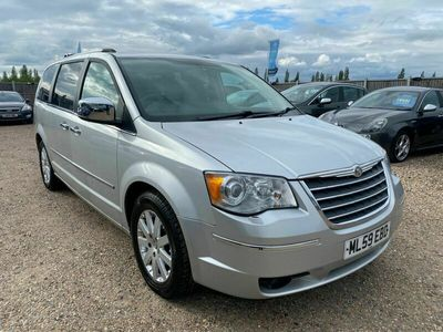 used Chrysler Grand Voyager Station Wagon 2.8 CRD Limited 5d Auto