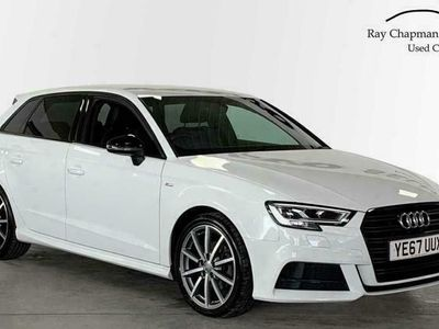 used Audi A3 Sportback Sportback 1.5 T FSI (150ps) Black Edition (CoD) special editions